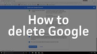 How to delete Google from your life