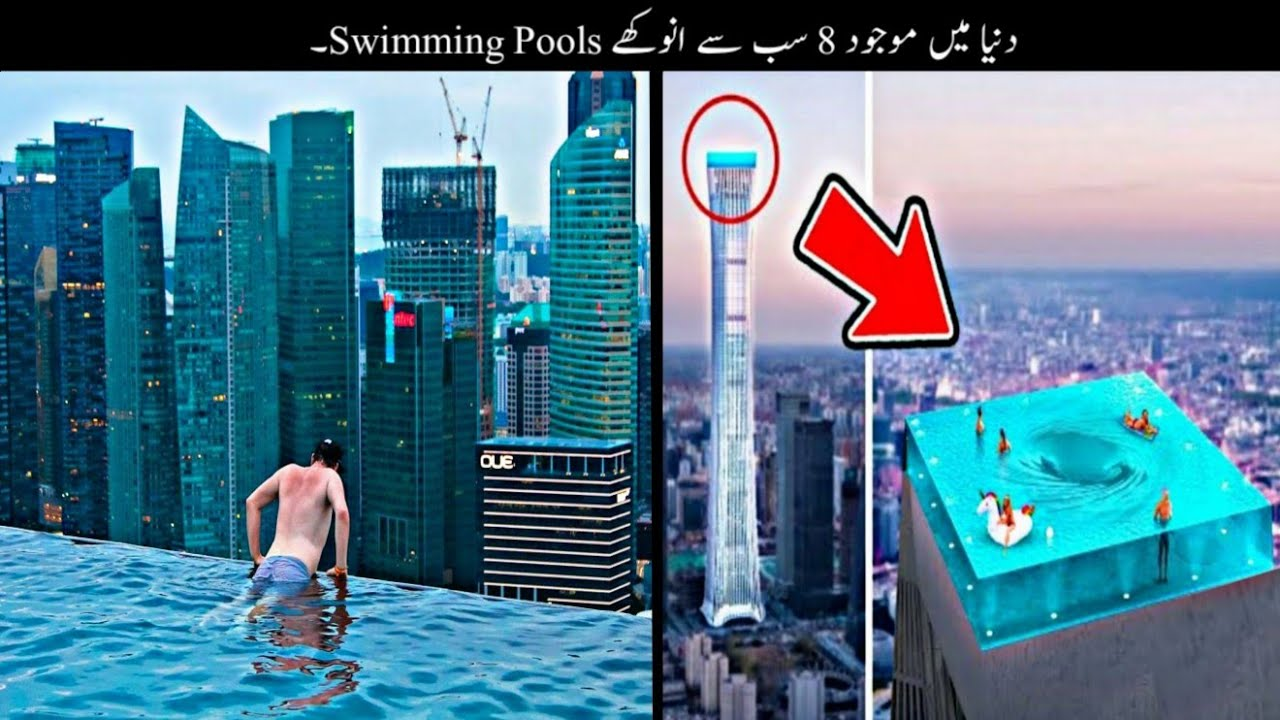 8 Most Unusual And Dangerous Pools In The World | دنیا کے سب سے انوکھے پولز | Haider Tv