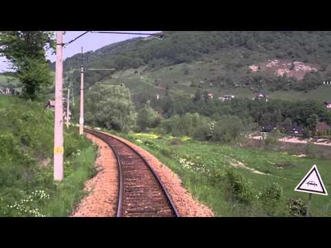 KRYNICZANKA cz 6 w HD odcinek  Ryto - Piwniczna Zdrój ( Linia 96 )  EP07-542 TLK 43502