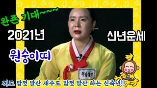 2021년 신축년 원숭이띠 신년운세/문서의인연/국사대신…