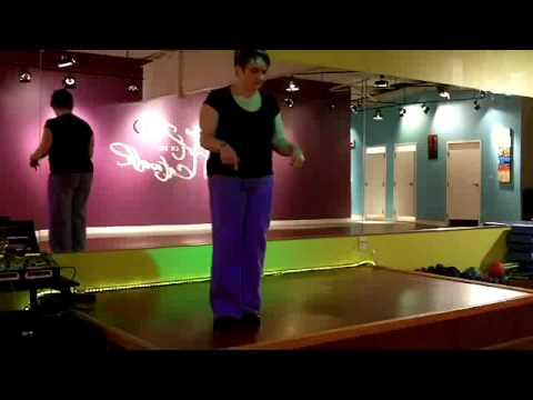 Zumba Step Instruction-SAMBA