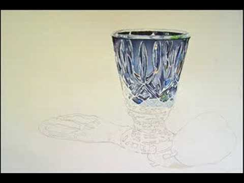 Still life watercolor painting by lori andrews youtube for Paintings of crystals