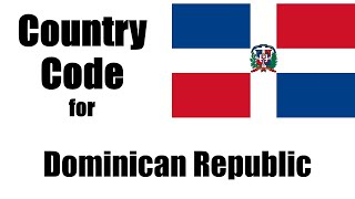 Dominican Republic Dialing Code Country Phone Area Codes In