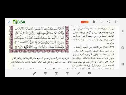 Tafsir Al Quran Harian Juz 1 Edisi 39: Al Baqarah 138-141 (Selesai Juz 1)