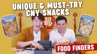 Unique & Must-Try Chinese New Year Snacks: Food Finders EP9