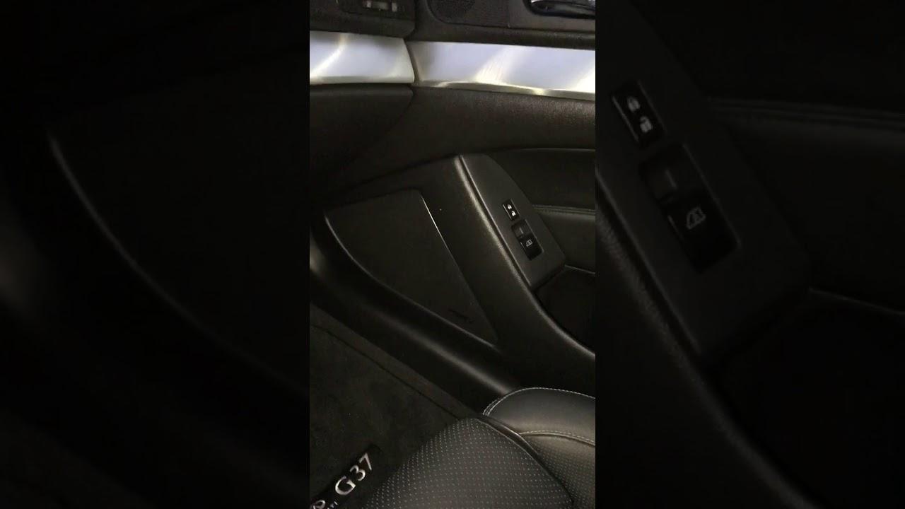2013 Infiniti G37S Coupe making strange interior noise while