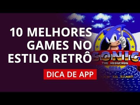 10 melhores games RETRÔ para Android [Dica de App]
