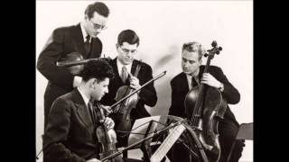 Bartók - String quartet n°6 - Juilliard I 1949