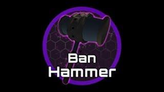 ROBLOX SCRIPT SHOWCASE: Ban Hammer