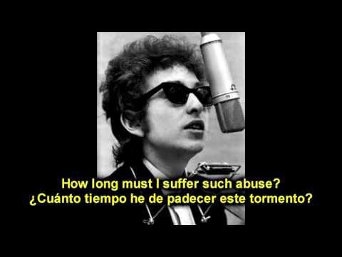 BOB DYLAN - ABANDONED LOVE - ESPAÑOL ENGLISH