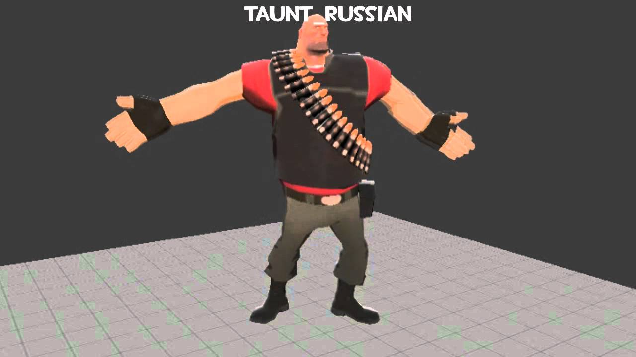 TF2 Unused Taunts 2013