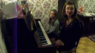 Уроки  фортепиано. Адрианна  Урок №4 06.03.14 Фортепианный ансамбль