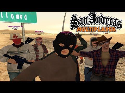 GTA SAMP Madness! | San Andreas Online Play