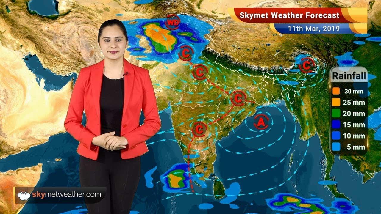 Weather Forecast March 11: Rain in Kashmir, Himachal, Uttarakhand, Punjab,  Haryana | Skymet Weather
