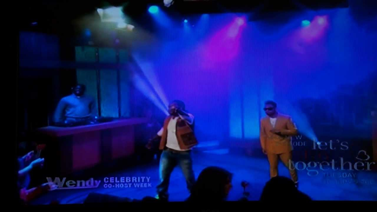 Wale Lotus Flower Bomb Ft Miguel Live On Wendy Williams Youtube