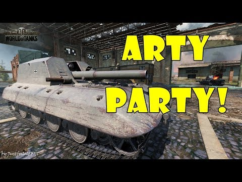 World of Tanks - Funny Moments | ARTY PARTY! #44