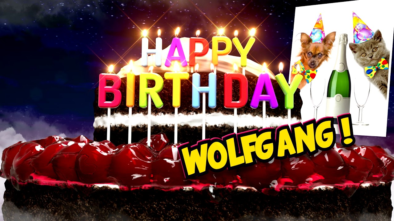 Image result for Happy Birthday dear Wolfgang