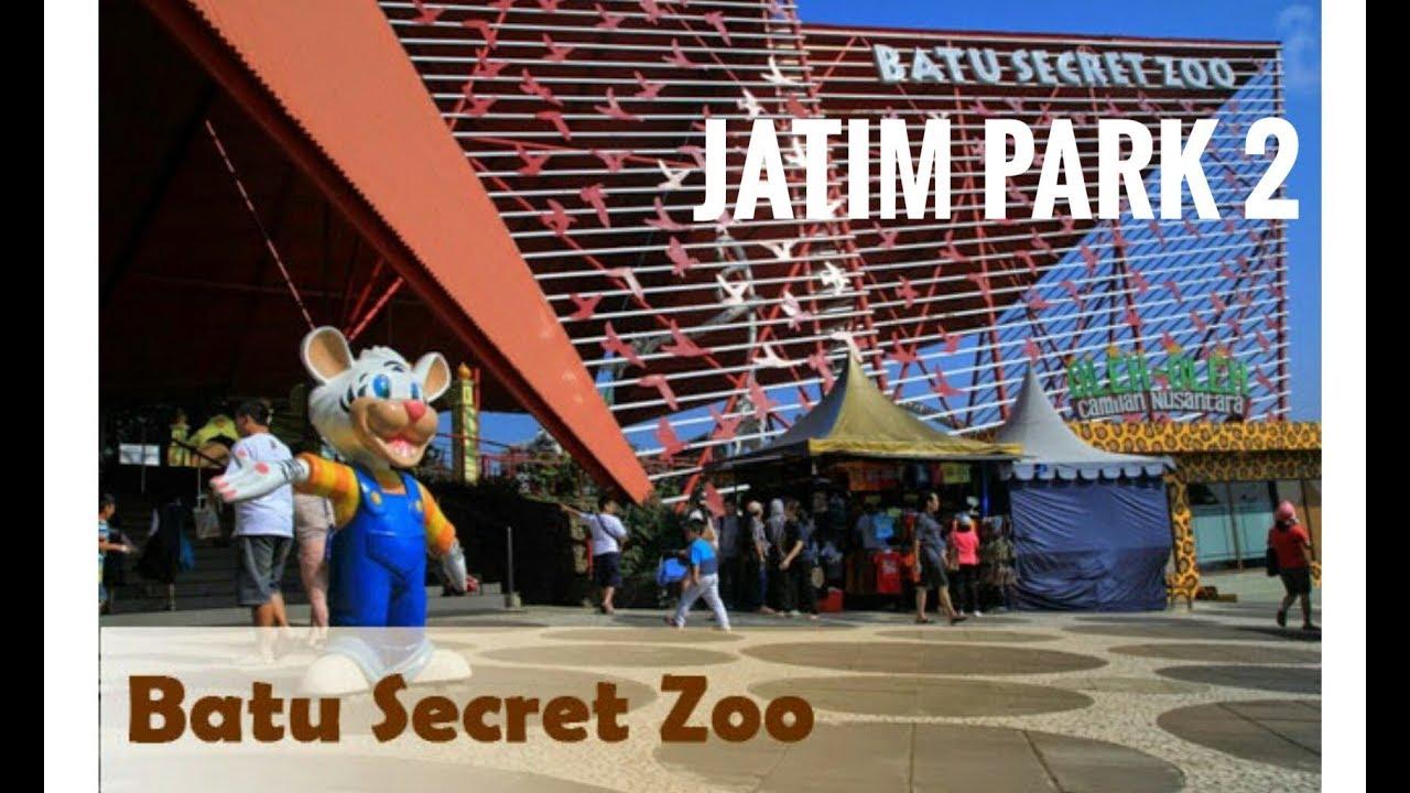 Jatim Park 2 Batu Secret Zoo Youtube