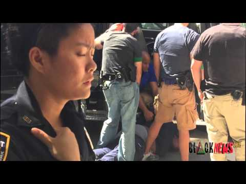 POLICE BRUTALITY IN HARLEM
