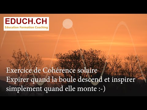 Coherence respiratoire Solaire Formation Coaching Educh.ch
