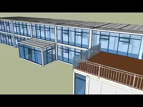 Modular Flat Pack Container Office