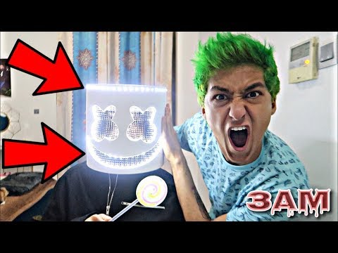 DO NOT UNMASK MARSHMELLO AT 3AM!! *OMG IT ACTUALLY WORKED*