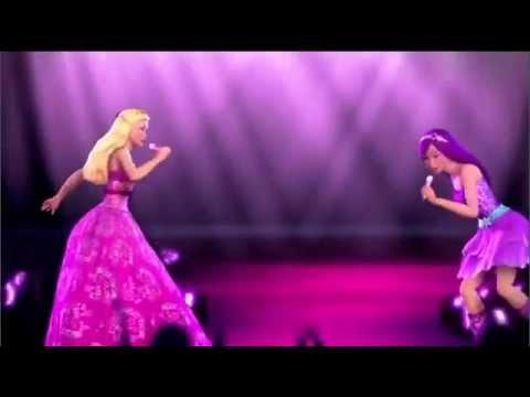 Barbie a Princesa e a Popstar - Alteração do primeiro Trailer - DUBLADO!!