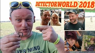 ....DETECTORWORLD 2018 ...with Jocelyn ,Kg and Ringy and many more !!!