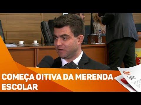 Começa oitiva da merenda escolar - TV SOROCABA/SBT