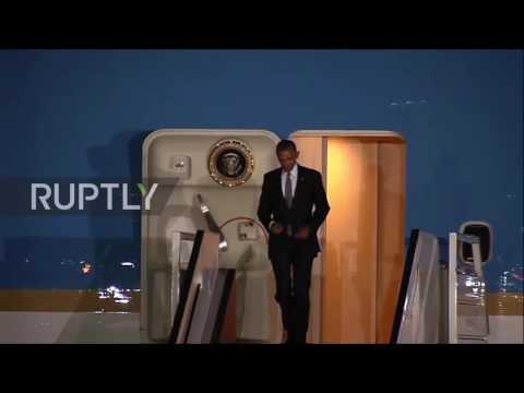 Peru: Obama and Trudeau land in Lima for APEC Summit