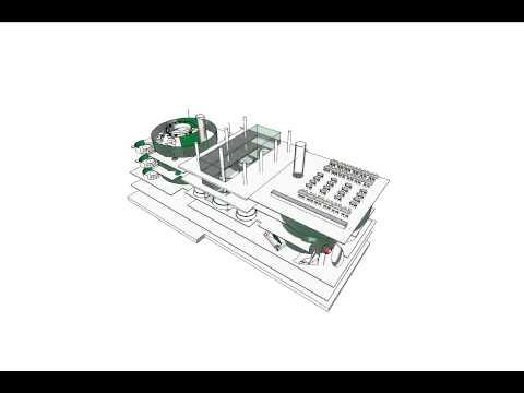 Building Massing by Ralph Appelbaum Associates