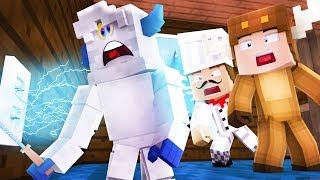 Minecraft Daycare - BABY BIGFOOT VISITS DAYCARE! W/ MOOSECRAFT (Minecraft Kids Roleplay)