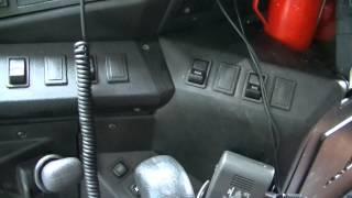 интерьер кабины маза 2