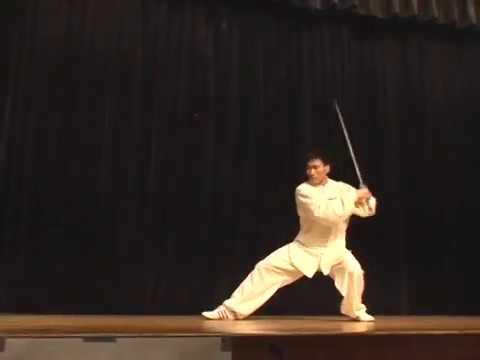 Master Chen Bing performs Chen Sword Form at SimplyAware's Dallas World Tai Chi