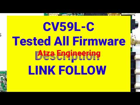 CV59L-C Tested Firmware Free Download