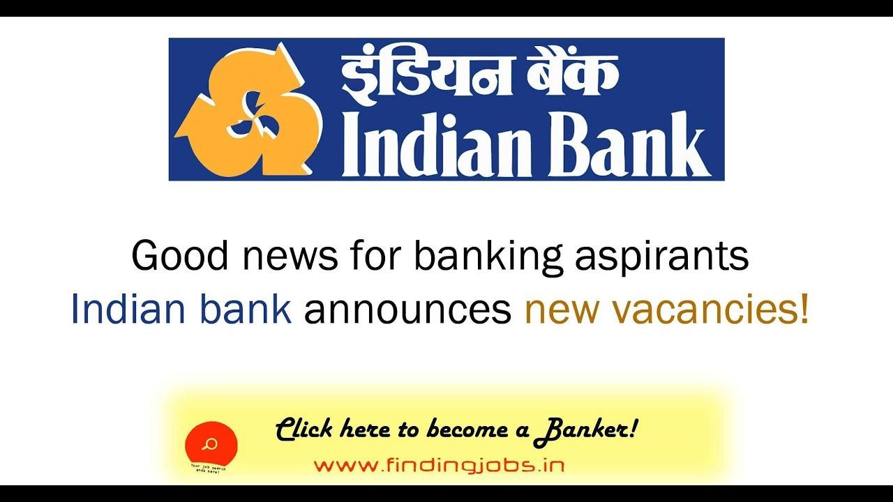 indian bank recruitment 2014-15 notification