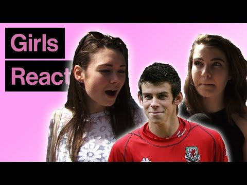 Girls React To Gareth Bale Then And Now