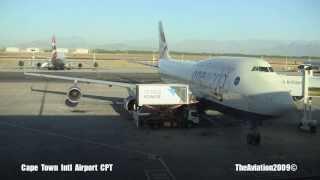 British Airways Boeing 747-400 Cape Town to Heathrow T5 -  G-CIVK