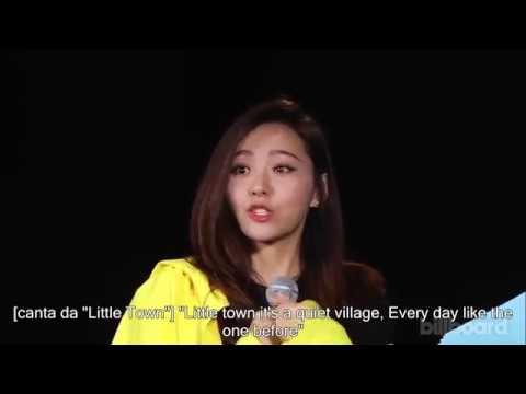 Jane Zhang Billboard Live Intervista 23 Maggio 2017 VERSIONE INTEGRALE CON SOTTOTITOLI IN ITALIANO