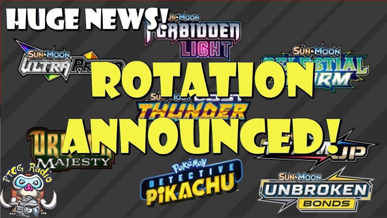 EARLY Pokemon TCG Rotation Announced! (Huge News!) (Rotation 2019)
