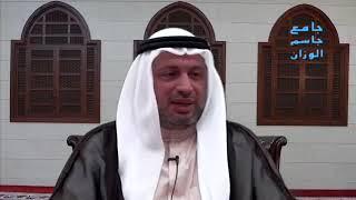 السيد مصطفى الزلزلة - من مناقب امير المؤمنين ع,تسليم الملائكة عليه عند إستسقائه الماء