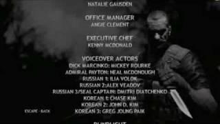 Rogue Warrior Feat MC Mickey Rourke - Funky Credits Theme