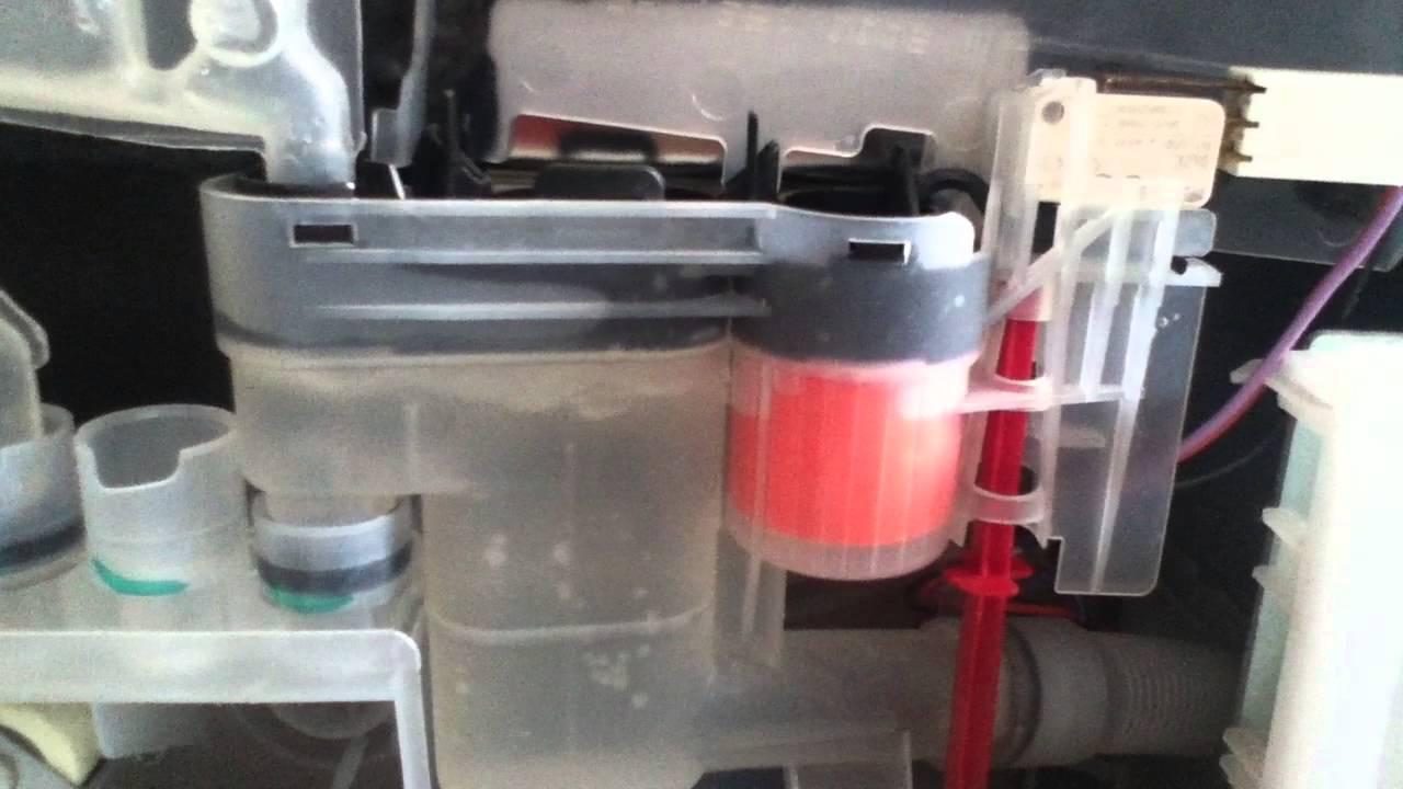 Bosch Dishwasher With A Bad Impeller Jug Sensor Aka Water