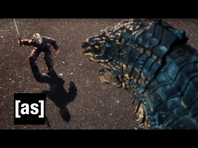 Godzilla vs. Jason Voorhees | Robot Chicken | Adult Swim