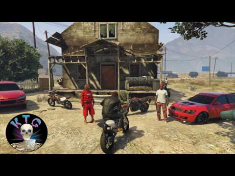 GTA 5 Crips & Bloods Out The Country 2 [HD] RockStar Editor