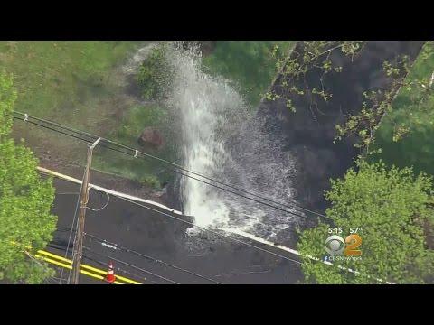 Water Main Breaks In Berkeley Heights, NJ