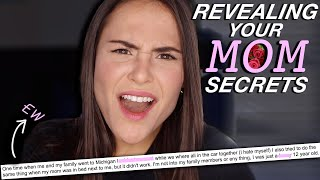 REVEALING YOUR MOM SECRETS | AYYDUBS
