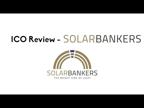 ICO Review - Solar Bankers (Invest in Solar Power)