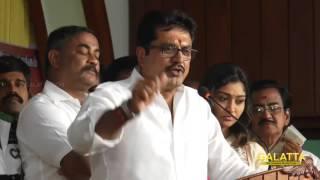 Sarath Kumar Publicly attacks Sivakumar, Karthi