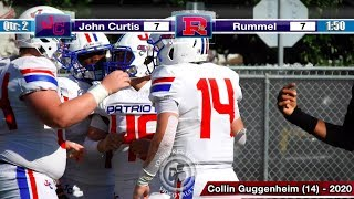John Curtis vs. Rummel (Week 9, FULL GAME) - Catholic League crown on the line b/w Patriots, Raiders